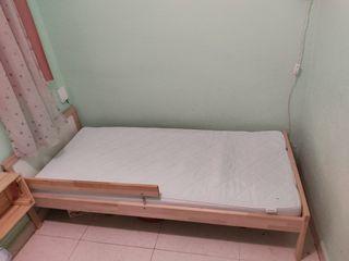cama baja ikea