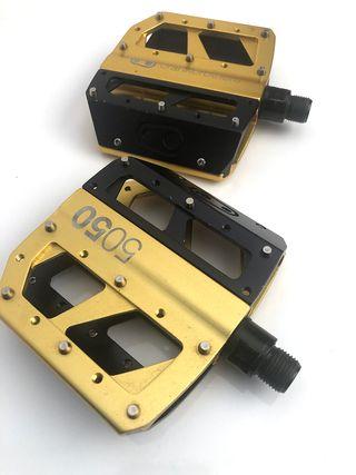 Vendo pedales plataforma Crank Bros 5050