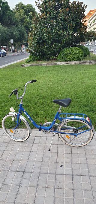 bici bicicleta derbi rabasa azul clasica año 80