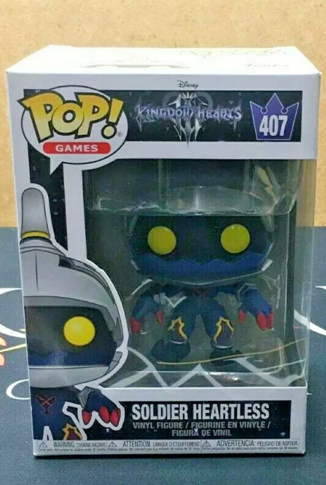 Solder Heartless. Funko Pop.