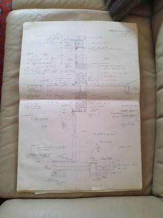 conjunto de planos técnicos para decoración