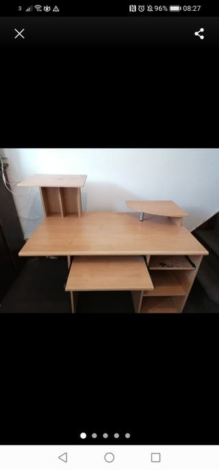 WOODEN DESK FOR WORK AND STUDIES