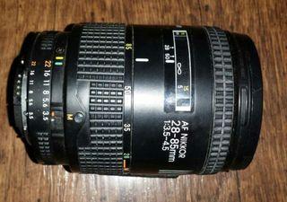 Objetivo Nikon Af 28-85mm