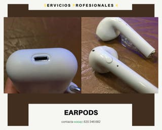 EARPODS IPHONE BLANCOS.