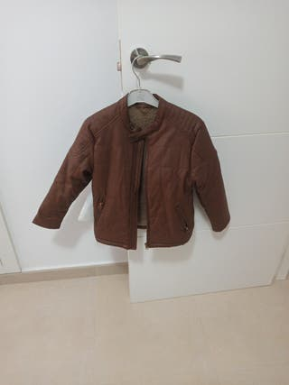 chaqueta de cuero niño (chupa)