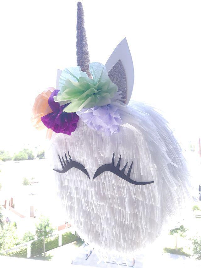 Piñata mediana de unicornio