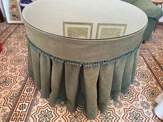 Mesa camilla redonda