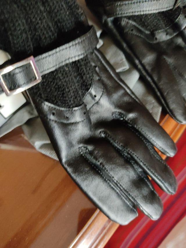 vintage guantes hasta el codo y dos cinturones