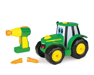 Juguete tractor Johnny