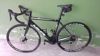 bicicleta carretera carbono disc