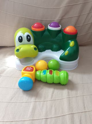 juguete para golpear con musica para bebe
