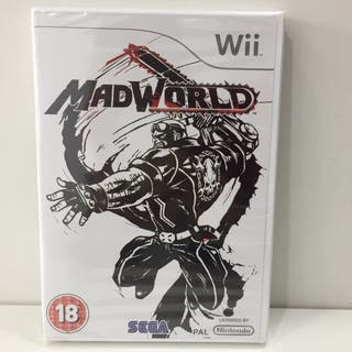 JUEGO NINTENDO WII MAD WORLD PRECINTADO