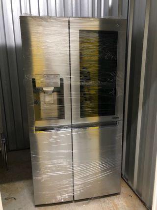 Nevera americana LG Side by Side Door in Door