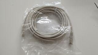Cable de red Ethernet con conectores RJ45 (Cat. 6,