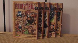 Manga: Fairy Tail (cinco primeros tomos)