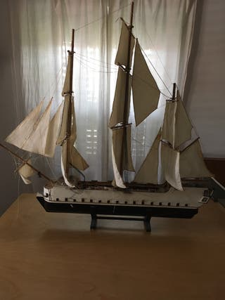 Maqueta Barco Nórdico