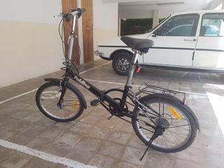 Bicicleta plegable de paseo