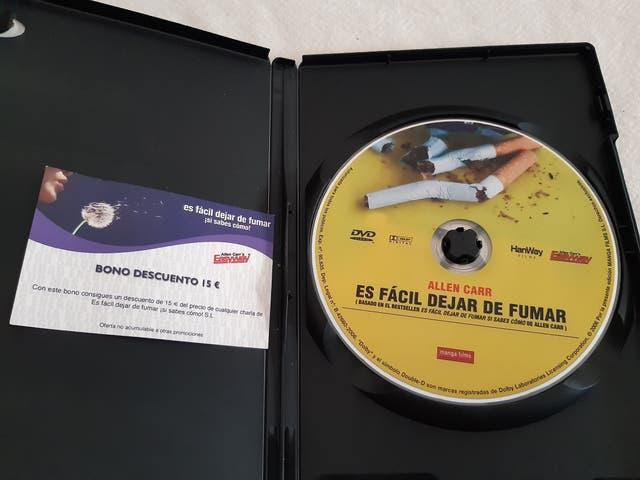 DVD DEJAR DE FUMAR EN 60 MIN