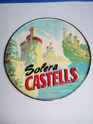 Placa metalica troquelada Solera Castells