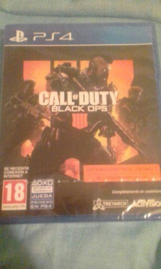 Call of Duty Black Ops 4 precintado