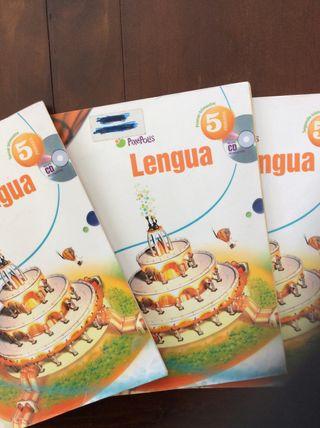 Libros Lengua Castellana 5º Primaria