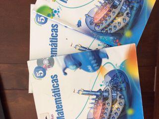 Libros Matemáticas 5º Primaria