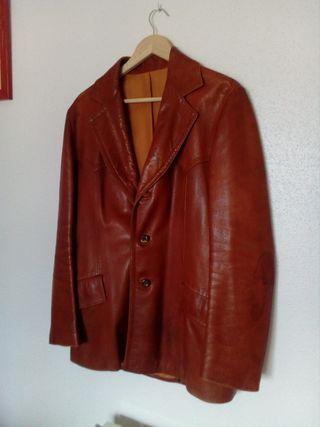 chaqueta piel auténtica