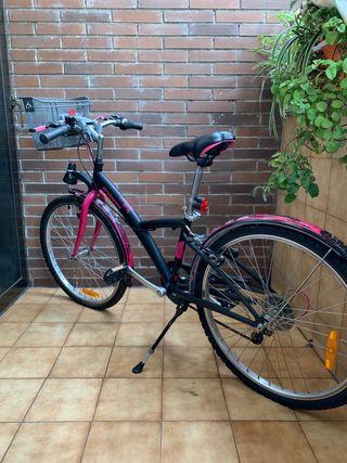 """Bicicleta 24"""" Btwin Niña"""