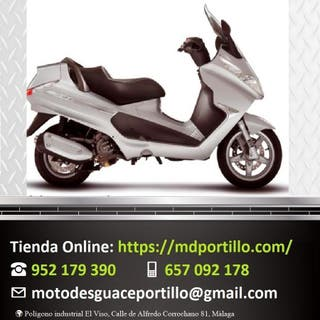 Piezas de moto Piaggio X8 250 2006-2008