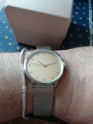Reloj de mujer de lujo Parfois + pulsera