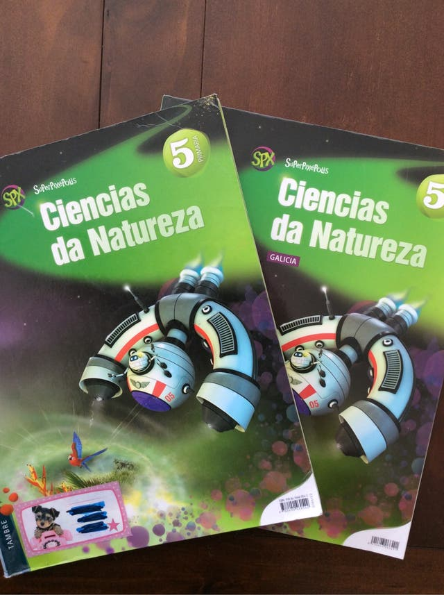 Libros Ciencias da Natureza 5º Primaria