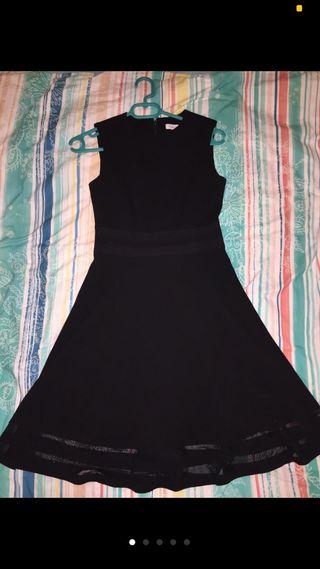Vestido calvin klein verano negro