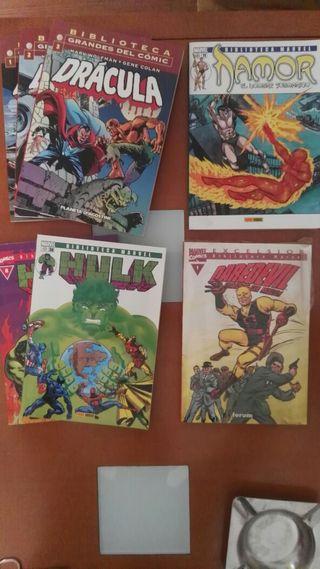 Comics Bibioteca Marvel