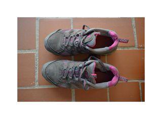Zapatillas hiking cuero