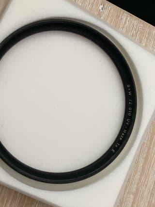 Filtro UV B+W profesional para 72mm