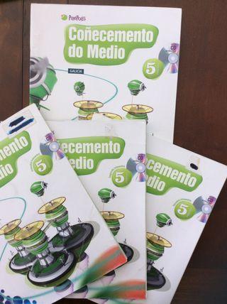 Libros Coñecemento do Medio 5º Primaria