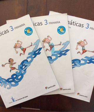 Libros Matemáticas 3º Primaria