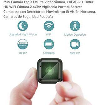 Mini Camara Espia Oculta Videocámara 1080P