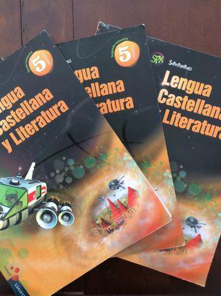 Libros Lengua Castellana y Literatura 5º Primaria