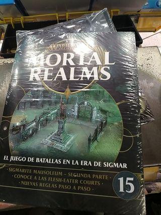 fascículo maquetas mortal realms 15 sigmarite
