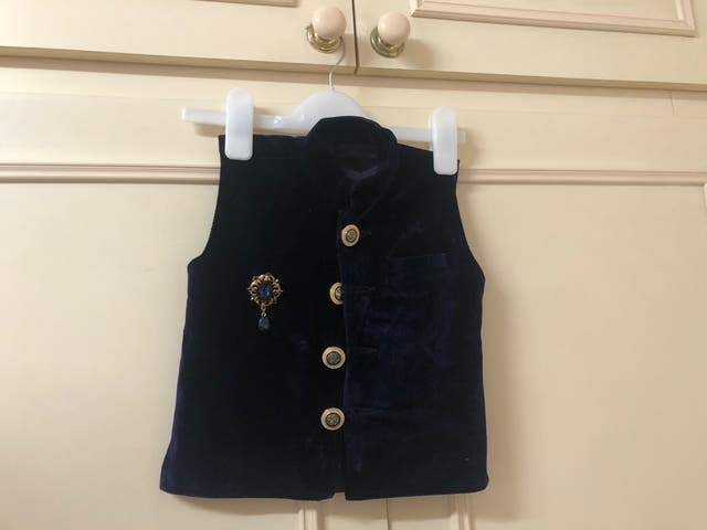 Kids boy waistcoat