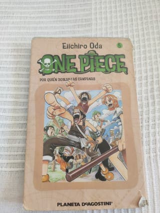 Manga one piece 5