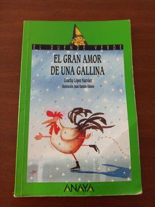 LIBRO: El gran amor de una gallina