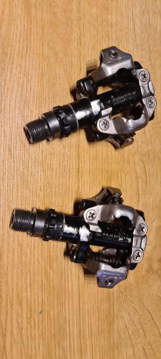 Pedales MTB automáticos Shimano 500