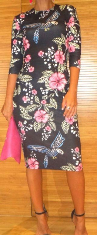 Vestido estampado María Escoté