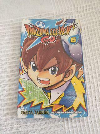 Manga inazuma eleven go 6