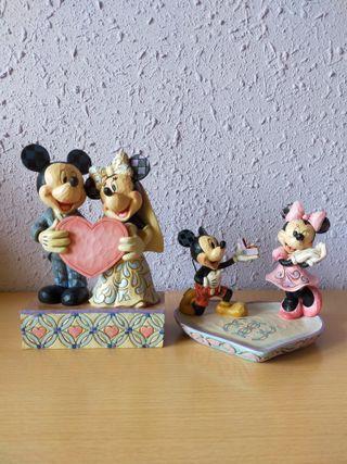 Pack de 2 Figuras de Showcase. Enesco. Disney