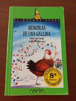 Libro: MEMORIAS DE UNA GALLINA