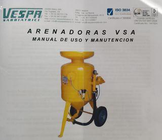 MÁQUINA DE CHORREO DE ARENA