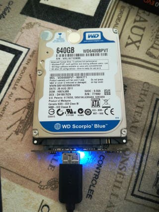 Disco duro WD 640 GB
